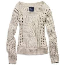 ae s slouchy cable knit sweater light
