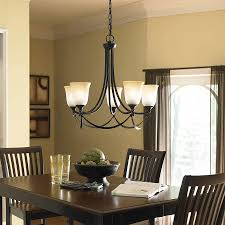Contemporary Bronze Dining Room Chandelier All About Home Design