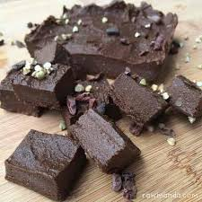 raw fudge brownie bites recipe nut free gluten free vegan