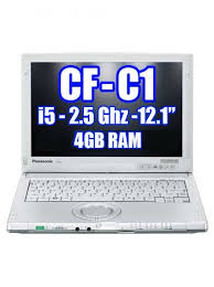 Refurbished Rugged Laptops Toughbook Cf C1 Cf C1bwfaz1m I5 2 5ghz Webcam Touch And