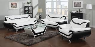 New Leather Sofas Modern Black And White Leather Sofa Set New 2018 2019