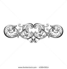 baroque ornament stock images royalty free images vectors