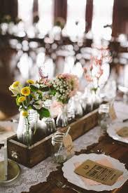 d co mariage vintage décoration table mariage rectangulaire chêtre ou vintage