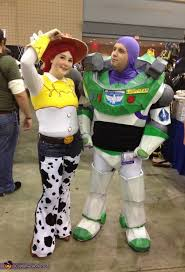 buzz lightyear and jessie couples homemade halloween costume