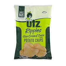 ripples chips utz ripples sour potato chips family