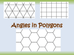 angles in polygons by owen134866 teaching resources tes