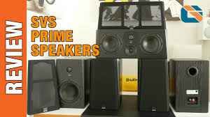 d home theater system svs prime home cinema speakers review audio youtube