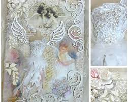 shabby chic wall art etsy