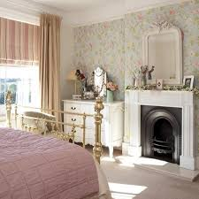 Edwardian Bedroom Ideas Floral Bedroom Ideas With Fireplaces