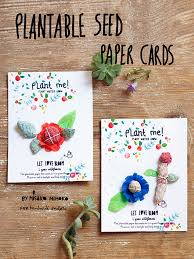 plantable paper plantable seed paper cards