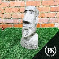 easter island statue garden ornament mould brightstone