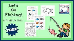 free fishing themed printables and activities