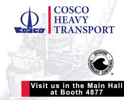 2016 offshore technology conference cosco heavy transport