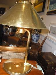 Nautical Lamps Pair Of Nautical Antique Brass Table Lamps At 1stdibs