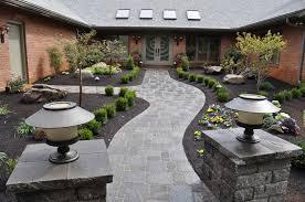 grand entrance villastone brick and anchor highland stone for