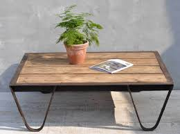 reclaimed timber coffee table industrial cast iron and reclaimed timber coffee table vintage