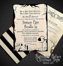 nightmare before christmas themed wedding by digitalwizardry the