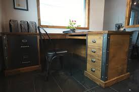 bureau industriel pas cher bureau style industriel bureau style bureau style industriel loft