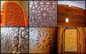 Cedar Wood Walls by Moroccan Architectural Patterns