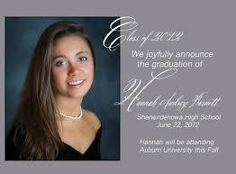 senior graduation announcement templates traditional high school graduation announcements cloveranddot