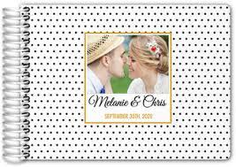 modern wedding guest book custom guest books custom wedding guest books