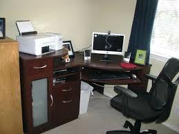 Desk L With Organizer Modern L Desk Metal Shaped Computer Organizer Sets Interque Co