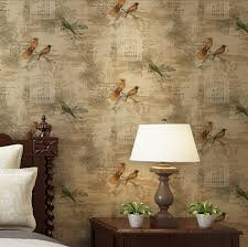 online get cheap bird wallpaper roll aliexpress com alibaba group beibehang home decor flower wall paper nonwoven wallpaper 3d paper contact for living room bird wallpaper