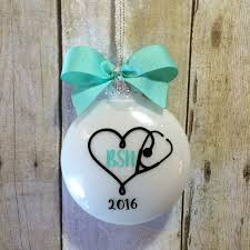 personalized graduation ornaments bsn gift for ornament nursing graduation gift