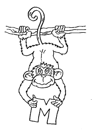 kidscolouringpages orgprint u0026 download monkey coloring pages