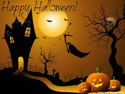 modern vinyl wall art decals wall stickers wall quotes happy halloween to all the visitors and readers