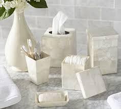 Capiz Vase Capiz Bath Accessories Pottery Barn