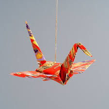 origami crane ornament origami animal