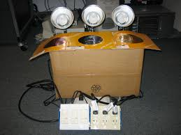 build the bandblinder stage lights on the cheap 5 steps