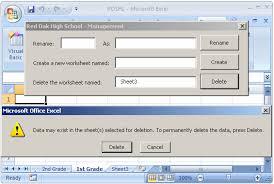 microsoft excel vba worksheets