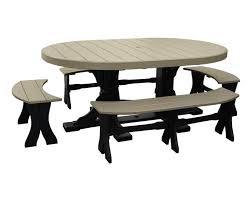 patio table and bench 4x6 oval dinner table with benches patio table sets sales prices