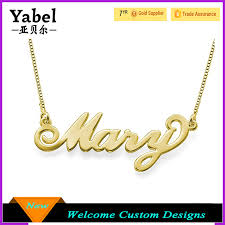 necklace with name ebay images Personalized name necklace wholesale name necklace suppliers jpg