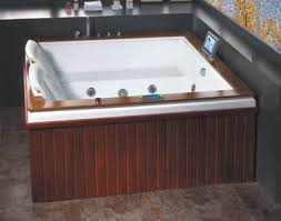 2 Person Spa Bathtub Corner Jacuzzi Whirlpool Bathtub Corner Jacuzzi Whirlpool Bathtub