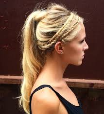 headband ponytail 40 best sporty hairstyles for workout the right hairstyles