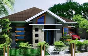 luxury simple modern home front yard 4 home ideas