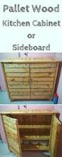 pallet kitchen cabinet sideboard 101 pallet ideas by harvest