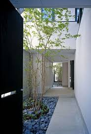 house plans with courtyard in middle spanish courtyard houses barcelona house with imposing exterior