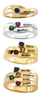 mothers day rings with names this special s day ring can hold 1 4 stones and can be