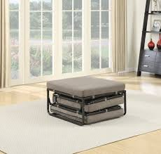 Folding Bed Ottoman Convenience Concepts Designs4comfort Folding Bed