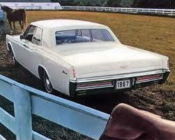1967 lincoln continental paint codes