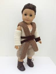 American Doll Halloween Costumes Star Wars Force Awakens Inspired Rey American Bittybeanies