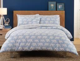 aurora flannelette quilt cover set bed bath n u0027 table