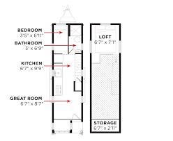 mini home floor plans tiny house trailer plans small canada floor soiaya
