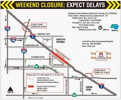Caltrans District Map Santa Ana I 5 Extended Weekend Closures This Weekend Caltrans