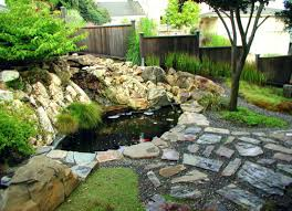 Landscape Design For Small Backyard Backyard Awesome Backyard Waterfall Ideas Landscape Garden