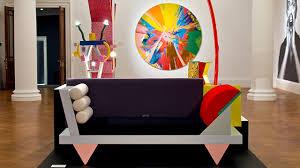 Post Modern Furniture Design by Postmodern Pop David Bowie U0027s Love Of Memphis The Chromologist